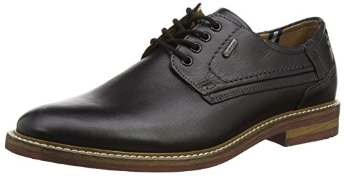 Negro cuero de Andrew de cordones men 51 para hombre FRETZ Schwarz Zapatos Noir w1TzqYRWRX