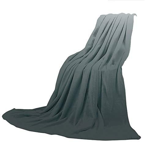 SCOCICI Comfortable Printing Blanket and Washing Machine Washable,Ombre,Smoke