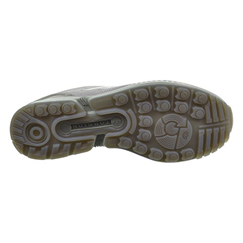 Zapatos para correr sintético Adidas Zx Flux Metal Gear Solid Grey