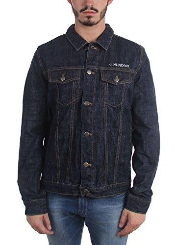 DressCode Jimi Hendrix - Mens Denim Jacket, Size: X-Large, Color: Denim