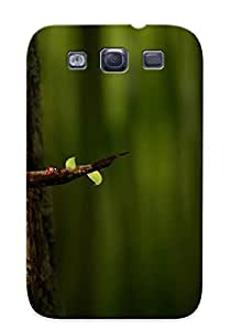 Durable Protector Case Cover With Parrot On A Branch Hot Design For Galaxy S3 (ideal Gift For Lovers)