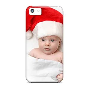 DreamDate Perfect Tpu Case For Iphone 5c/ Anti-scratch Protector Case (cute Christmas Baby) wangjiang maoyi by lolosakes