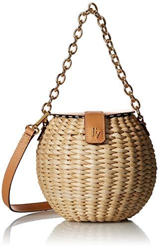 Frances Valentine Honeypot Basket Crossbody, Natural
