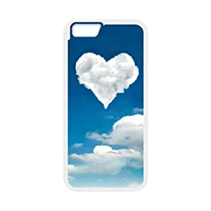 iphone6 plus 5.5 inch phone cases White Heart Pattern cell phone cases Beautiful gifts TWQ06690899
