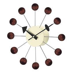 Stilnovo Telechron Ball Clock, Walnut
