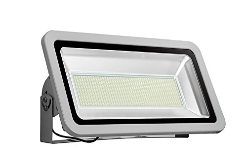 LED Flood Light Chunnuan, 500W,50000LUMEN 6000-6500K (Cold White), IP65 Waterproof,Floodlight, CE and ROHS Certified Outdoor Security Lights Garden Landscape Super Bright 110V (500)