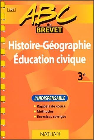 En ligne ABC du brevet : histoire-géographie, éducation civique pdf