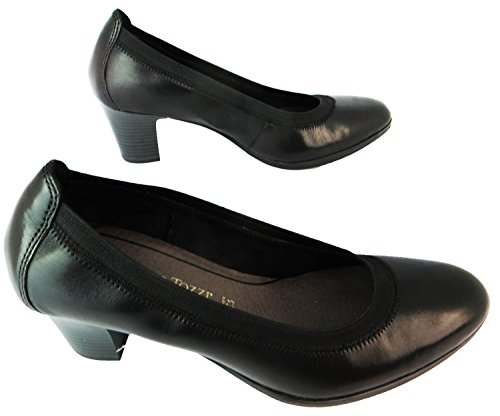 Antic Black Coupe Noir Marco Femme Fermées Tozzi xwYpOHqA0