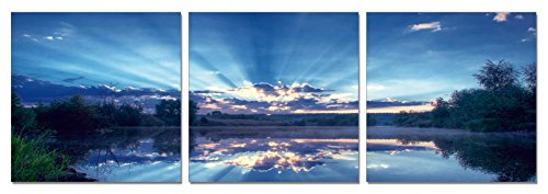 SLS Vision. Early Sunrise. 48 x 16 inches. Ready to