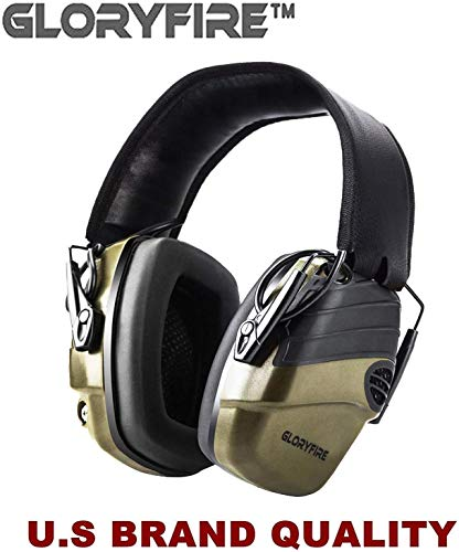 GLORYFIRE Electronic Shooting Earmuff