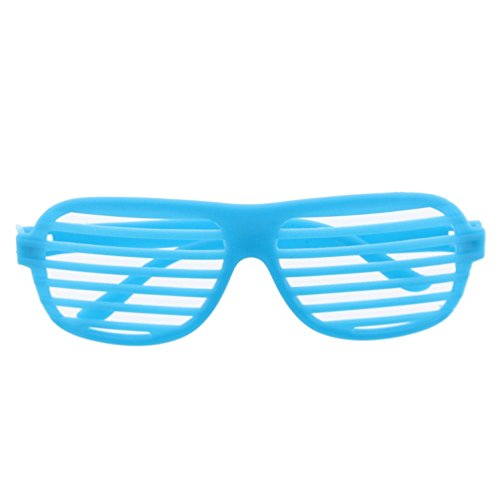 Zac's Alter Ego Neon Fancy Dress Clubber Shutter Shades