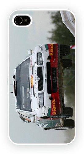 Skoda Fabia WRC In Air, iPhone 5C, Etui de téléphone mobile - encre brillant impression