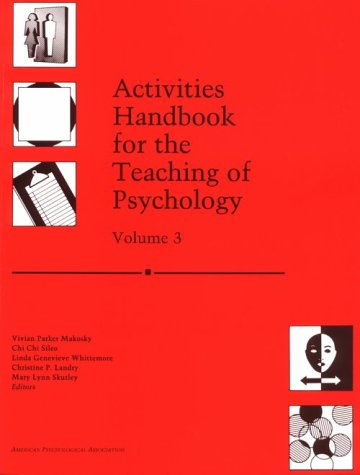 Activities Handbook for the Teaching of Psychology