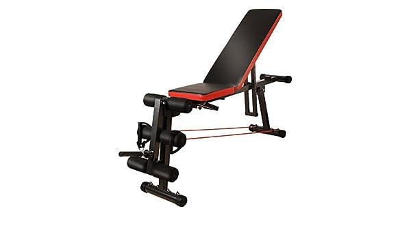 ... supina Equipo de ejercicios abdominales Abdomen multifunción Músculos abdominales Banco con mancuernas Entrenador de ejercicios p: Amazon.es: Hogar