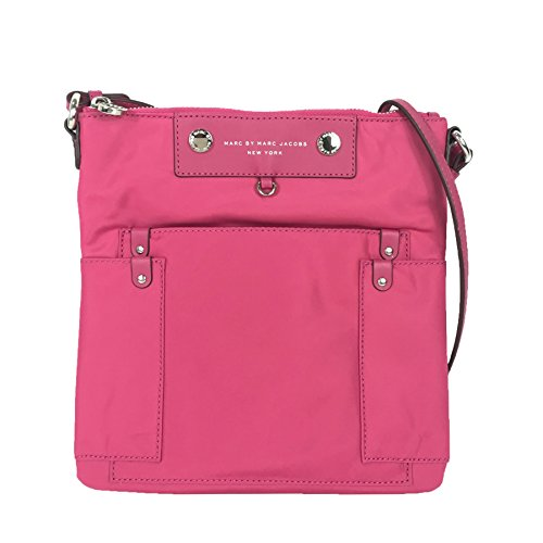Begonia Jacobs Crossbody Marc Marc Pink Preppy by Swingpack Sia Nylon 8HqqpEw0