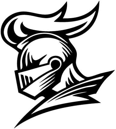 Leon Online Box Knight Head Mascot - Vinilo Adhesivo Tribal para ...
