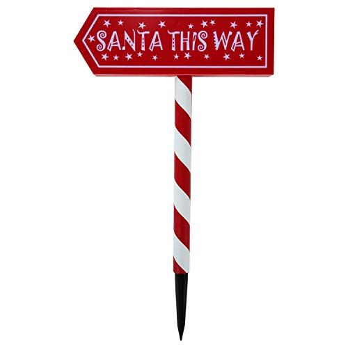 Candy Cane Solar Light Stakes in US - 5