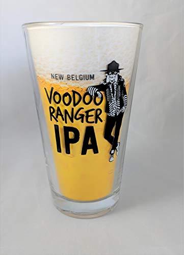 (New Belgium Brewery Voodoo Ranger Pint Glass )