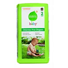 Seventh Generation Baby Free & Clear Diapers, Stage 2, 12-18 lbs, 40 diapers.