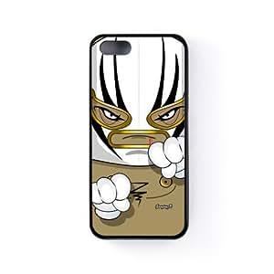 Luchador 05 Funda Protectora Snap-On en Silicona Negra para Apple® iPhone 5 / 5s de Gangtoyz + Se incluye un protector de pantalla transparente GRATIS