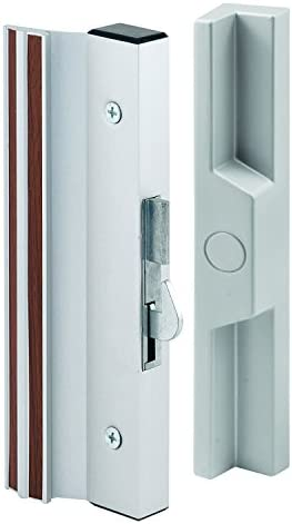 Alike PRIMELINE C 1264 Patio Door Handle Set Key Type Powder Coated