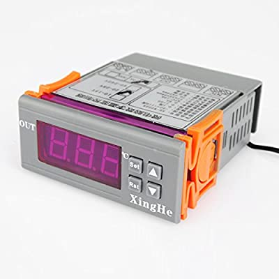 XH-W2028 -50~110 DC12V Digital LCD Temperature Controller Heat Cool Temp Thermostat Thermometer Regulator with Sensor