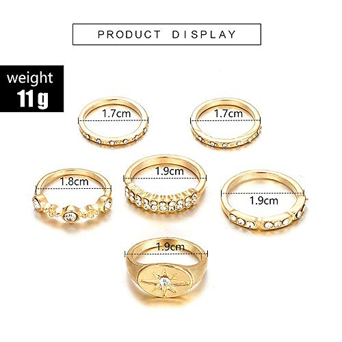 Buy rhinestone rings for women bulk