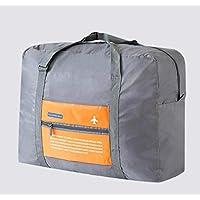 Magic Foldable Travel Bag for Unisex, Grey