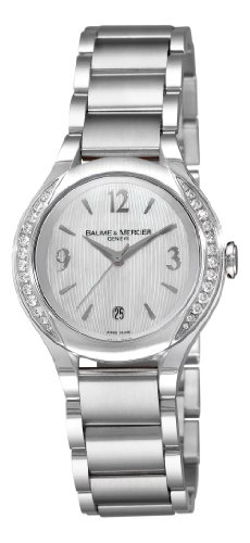 (Baume & Mercier Women's 8771 Ilea Swiss Diamond Watch)