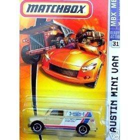 (Matchbox 2007 MBX Metal #31 - Authentic British Auto Parts and Service Beige Color Austin Mini Van)