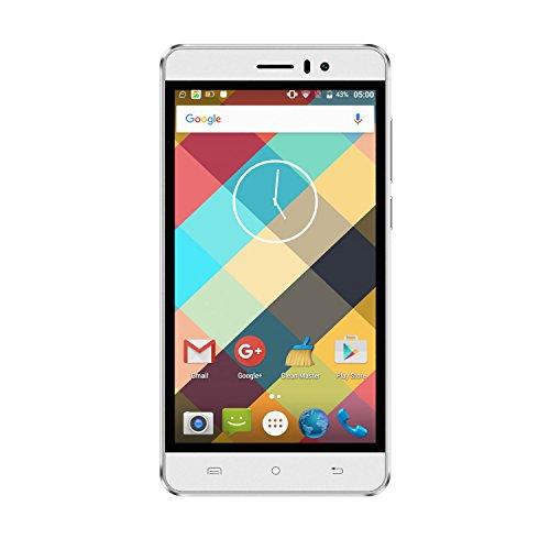 CUBOT Rainbow 5.0 Zoll 3G Smartphone Android6.0 Dual SIM MT6580 Quad Core 1.3GHz IPS HD Screen 1GB RAM+16GB ROM 13MP 5MP Dual Kamera Handy ohne Vertrag HotKnot GPS OTG GMS WIFI Weiß