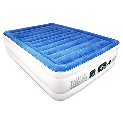 Air Mattress. This Raised Blow up Airbed - Dual Smart Pump T