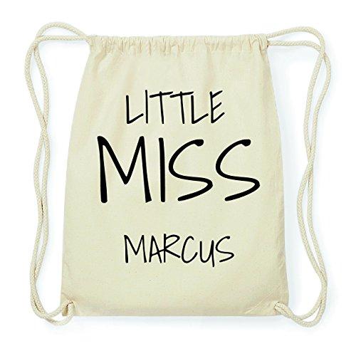 JOllify MARCUS Hipster Turnbeutel Tasche Rucksack aus Baumwolle - Farbe: natur Design: Little Miss DQW3b7