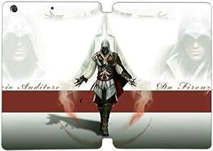 Cubierta de cuero y caja de la PC funda / soporte para funda de Apple iPad Mini 4 funda Con Magnetic reposo automático Función de despertador DIY por Assassin'S Creed Video Game Y3Q8Ty5V7Ql