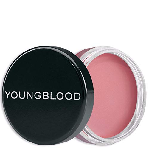 Youngblood Clean Luxury Cosmetics Luminous Creme Blush, Pink Cashmere | Blush Makeup Cream Natural Cheeks Creme Minerals Glow Matte Long Lasting | Cruelty-Free, Paraben-Free