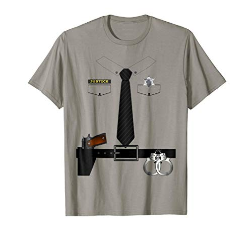Sheriff Justice Halloween Costume T-shirt Police Deputy