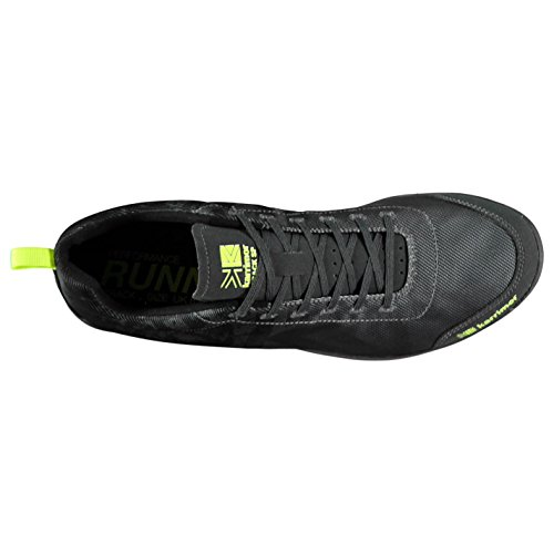 Karrimor Mens Running Spikes 4 Track Shoes Black/Grey 0ipv9Nx4