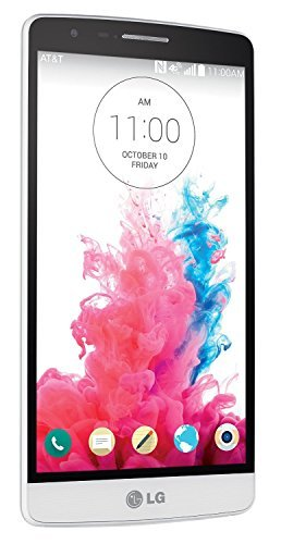LG G3 Vigor D725 8GB Unlocked GSM 4G LTE Quad-Core Android 4.4 Smartphone w/ 8MP Camera - Silk White (No Warranty)