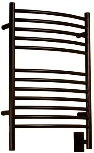 Amba ECO-20 20-1/2-Inch x 31-Inch Curved Towel Warmer, Oil Rubbed Bronze (Towel Amba Bronze Warmer)