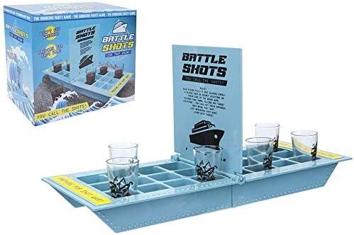 OSSIAN Ultimate Battle Shots juegos de beber – Juego de mesa para adultos – Mini mesa de escritorio