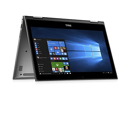 2017 Newest Model Dell Inspiron 2-IN-1 13.3-inch Touch IPS FHD 1080p Laptop PC, Intel Core i5-7200U, 8GB DDR4 SDRAM, 256GB SSD, Bluetooth, Backlit Keyboard, Up to 8h battery life, Windows 10
