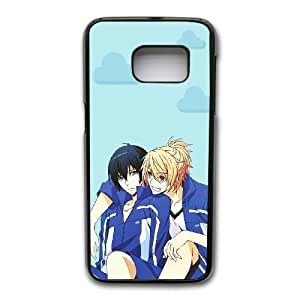 Grouden R Create and Design Phone Case, Prince of Stride Cell Phone Case for Samsung Galaxy S7 Black + Tempered Glass Screen Protector (Free) LPC-8018365