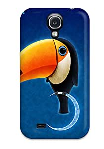 Juliam Beisel's Shop 5698637K18860559 High Quality Shock Absorbing Case For Galaxy S4-toucan Bird
