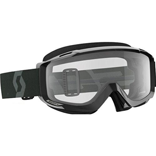 Scott Split OTG Sand Dust Adult Off-Road Motorcycle Goggles - Black/White/Grey/One ()