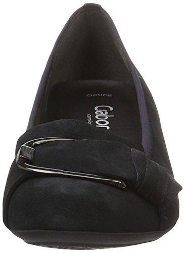 Gabor Shoes Comfort, Zapatos De Tacón Mujer Azul (nightblue 46)