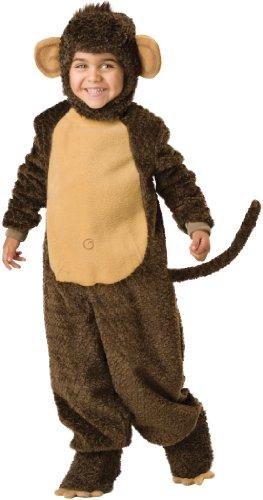 Incharacter Infant Monkey Costume (InCharacter Costumes Baby's Lil' Monkey Costume, Brown, Medium)
