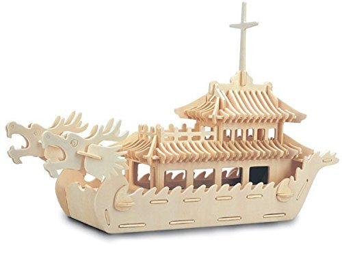 Dragon Boat - QUAY Woodcraft Construction Kit FSC by Quay