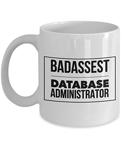 Rabbit Smile - Gifts for Database Administrator Fun Novelty Cup