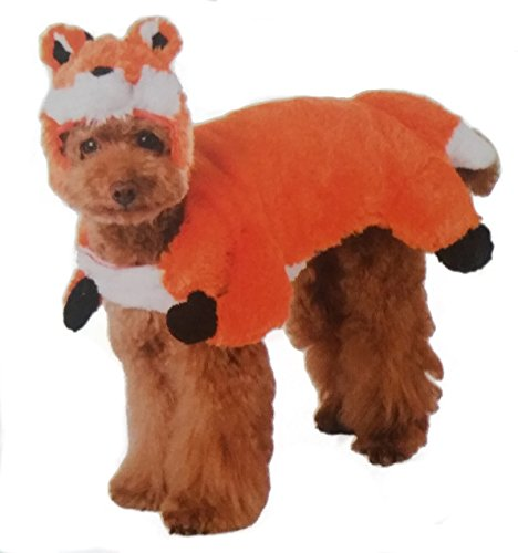 [Ciao Ciao Pet Collection Dog Halloween Costume (Fox, L)] (Fox Pet Costume)