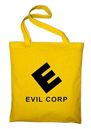 Corporation Cloth yellow Evil Styletex23bagevilc8 Jute Bag Yellow Cotton Corp SwwRdaqP